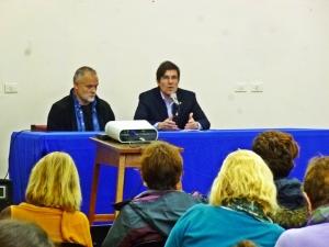 Apertura VII Congreso con José Goity, Decano FHyA UNR